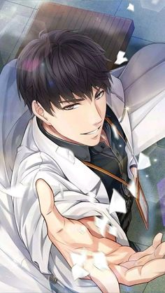 Detailed karma information on Lucien: Memory Lapse in Mr Love Queen's Choice, including stats, star-up materials, evolve materials, and more. Hot Anime Boy, Cute Anime Guys, I Love Anime, Anime Cosplay, Manga Boy, Manga Anime, Fan Art Anime, Handsome Anime Guys, Anime Kunst