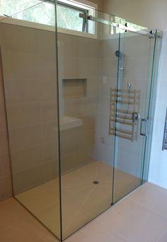 Sliding Shower Door Frameless Shower, Shower Doors, Screens, Showers, Divider, Bathtub, Bathroom, Modern, Furniture