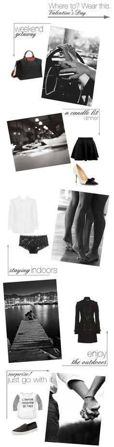 Where to?  Wear this. {Valentine's Day} \\ inspiration \\ fashion