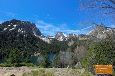 The Beautiful Pyrenees Mountains in Spain