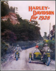 1928 Harley Davidson cataloge cover | by bullittmcqueen