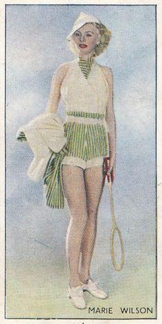 Marie Wilson    Godfrey Phillips Ltd. Beauties of Today, 1937