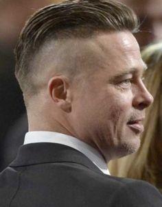 braided down hairstyles : Brad pitt new hairstyle - http://new-hairstyle.ru/brad-pitt-new ...