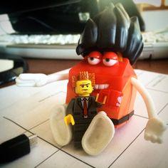 """Yes sir!"" #100happydays #100diasfelizes #mcdonalds #lego #legos #legos #p3top #portugal #portugalsemfiltros #brick #bricks #minifigure #miniseries #minifigures"