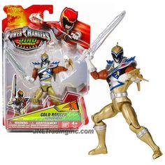"Bandai Saban's Power Rangers Dino Charge Series 5"" Tall Figure - GOLD RANGER with Saber"
