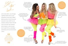 Neon Hen Party Neon Outfit Ideas