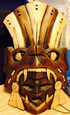 mayan mask - Google Search