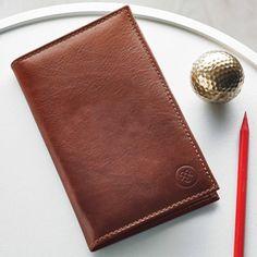 Sestino leather golf card holder
