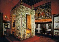 Chateau d'Anet - | La chambre de Diane de Poitiers