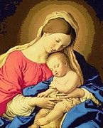 Madonna Enthroned by Christian Art