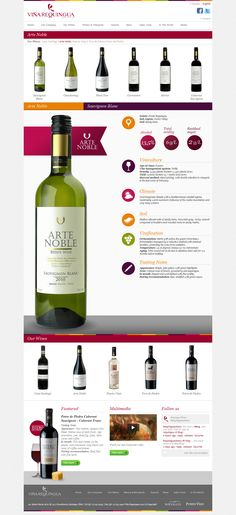 All you need to know about #wine. #UX #design