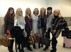 Real Housewives of Orange County cast filming Season 8.