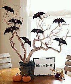 MuyAmeno.com: Fiestas de Halloween, Centros de Mesa