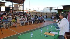 Presidente regional ing. Reynaldo Hilbck Guzmán invitó a la población del distrito de Frías a continuar con la formalización en sus terrenos agrícolas.