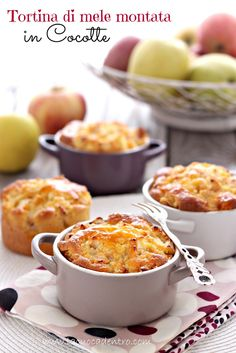 La Cuoca Dentro: Tortina di mele montata di Montersino
