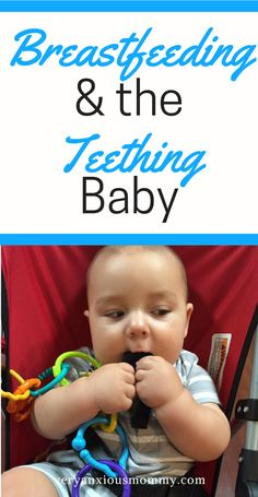 The moment your baby starts cutting teeth, breastfeedind moms begin to become worried about their baby biting while breastfeeding. Should I wean my teething baby? What should I do if my breastfed baby bites me? Don't wean your breastfed baby. Instead use these quick tips and try to keep on breastfeeding.