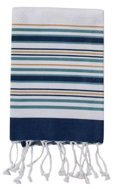 Kay Dee Designs Fouta Different Colors Blue Towels, Pool Towels, Halloween Bathroom, Face Towel, Weaving Patterns, Textiles, Towel Set, Kitchen And Bath, Hand Towels