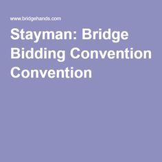 Stayman: Bridge Bidding Convention