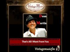 Dean Martin & Dick Stabile And His Orchestra – That's All I Wa