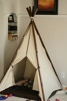 DIY Child's Teepee from Ana White pattern!