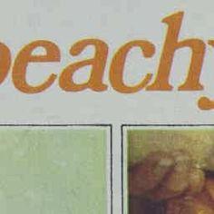26 Jan 1977 - Almond peachy pie