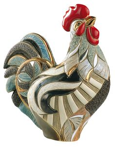 Artisania Rinconada Rooster - Emerald Collection