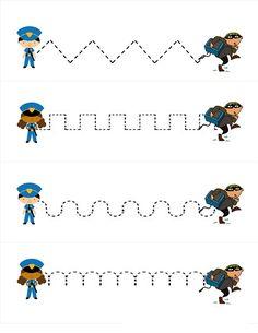 Polis Temalı Etkinlikler | Evimin Altın Topu Nursery Worksheets, Preschool Worksheets, Kindergarten Activities, Activities For Kids, Turtle Classroom, New Classroom, People Who Help Us, Community Helpers Preschool, Police Activities