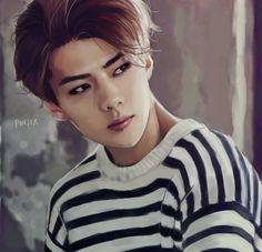 EXO Sehun fanart