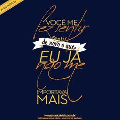 você me faz tão bem - detonautas roque clube  www.musicaletria.com.br  #musicaletria #tipografia #detonautas