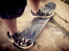 Me, Nike & Skateboard