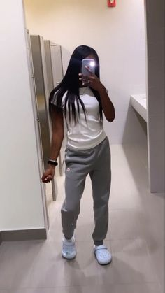 Cute Lazy Outfits, Swag Outfits For Girls, Cute Swag Outfits, Teenage Girl Outfits, Chill Outfits, Teen Fashion Outfits, Look Fashion, Pretty Outfits, Preteen Fashion