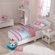 Parents ready for their kids to stop sleeping in a crib will love our Nantucket White Toddler Bed. This bed is the perfect size for toddlers and will look great in any child's room.