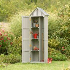 Armoire de jardin KUMLA en bois - ép.14mm | Abris de jardin ...