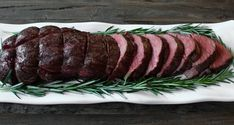 Slow-Roasted Beef Tenderloin with Rosemary... no brainer!  5 min prep, cook for 2 hours, and get all the compliments of a 5-star restaurant.  Done.