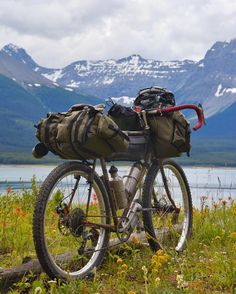 Who said that you can't carry anything on a bike? The view is pretty awesome too