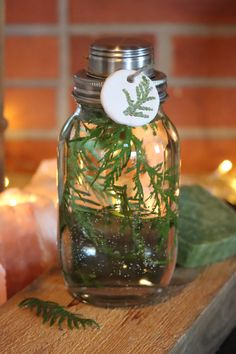 Cleaning vinegar with thuja. Cleaning Vinegar, Finland, Table Decorations, Home Decor, Decoration Home, Room Decor, Home Interior Design, Dinner Table Decorations, Home Decoration