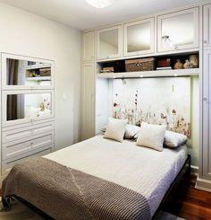 espacio de almacenamiento en habitaciones pequeas - Bedroom Ideas Small Spaces