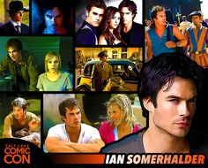 Meet Ian Somerhalder at #SLCC15! Best known for his roles on The Vampire Diaries and LOST!   / #SLCC15 Tickets on Sale Now: http://saltlakecomiccon.com/slcc-2015-tickets/?cc=Pinterest
