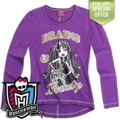 Детска блуза Monster High - Клео Monster High, Graphic Sweatshirt, Sweatshirts, Sweaters, Kids, Fashion, Young Children, Moda, Boys