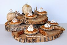 Natural Wood Dessert Stand and 5 Surprising Tips for Wooden Décor |One More Time Events.. .http://www.onemoretimeevents.com/2013/10/natural-wood-dessert-stand-and-5.html