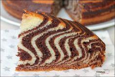Gâteau tigré – le gâteau que les enfants vont adorer - Complot dans la cuisine