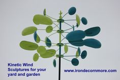 Quad Wind Sculpture Teal Key Lime Iron Décor N More Grafton Il 618 786 2343 Irondecornmorewindsculpture Irondecornmore Windsculptures Graftonil