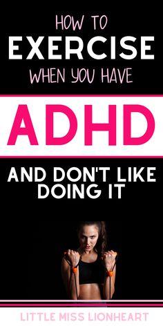 Fitness Tips, Fitness Motivation, Adhd Diagnosis, Defiant Disorder, Adhd Help, Adhd Brain, Adhd Strategies, Reflexology Massage, Adhd