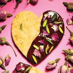 Hazelnut, Pistachio and Orange Confit Shortbread #Cookies #Recipe ...