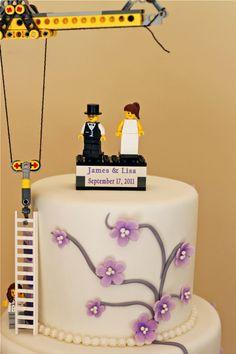 Lego Wedding Cake, via Flickr.