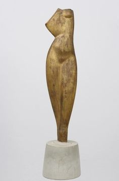 KM Alexander Archipenko, Torso, 1914 Sculptures Céramiques, Wood Sculpture, Georges Braque, Plastic Art, Ceramic Figures, Art Plastique, Artist Art, Figurative Art, Land Art