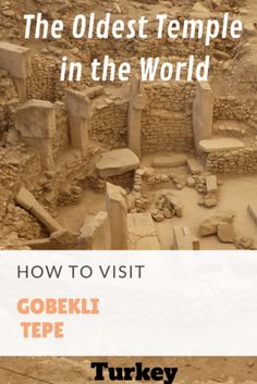 How to visit Gobekli Tepe - Frugal Travellers - The world's oldest temple. A guide to visiting the year old temple in South East Turkey Archaeological Discoveries, Living Off The Land, Travel Advice, Travel Guides, Travel Tips, Going On A Trip, World Heritage Sites, Archaeology, Frugal