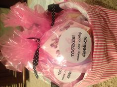 Goodie bags for Addison's Minnie Party