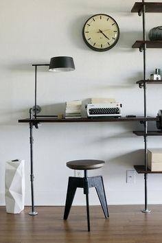 industrial desk diy