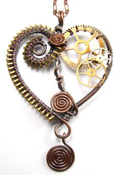 Bead&Button Show: Bead&Button Show Workshops & Classes: Tuesday June 3, 2014: B141623 Gears of My Heart